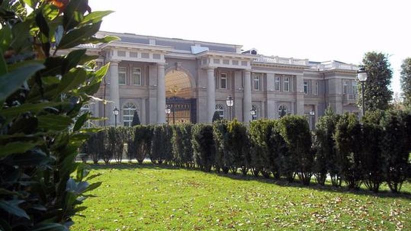 Prunkbau in Sotschi: Ist das der Palazzo Putin?