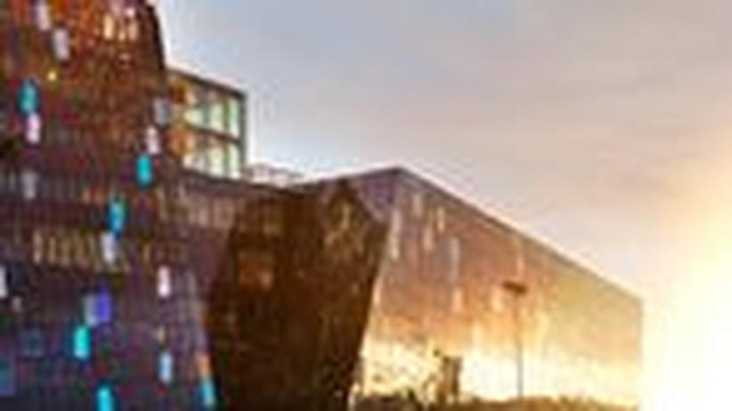 Konzerthaus Reykjavik: Ein Glaspalast für die Musik
