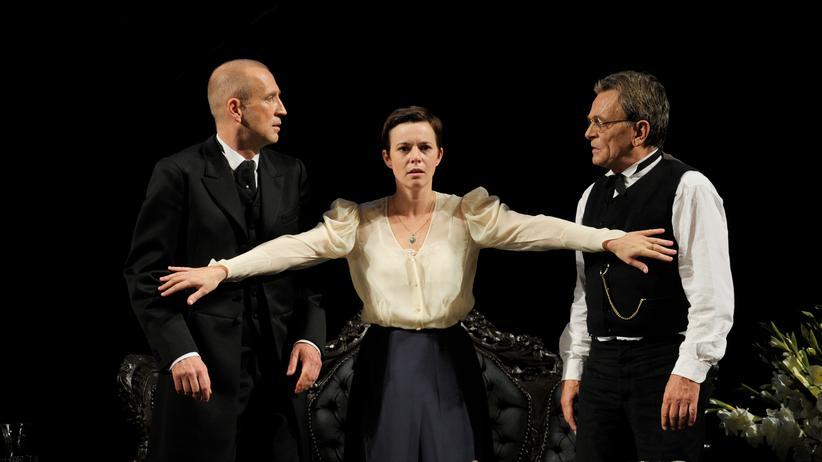 Haußmann-Inszenierung: Freitreppe in den Tod
