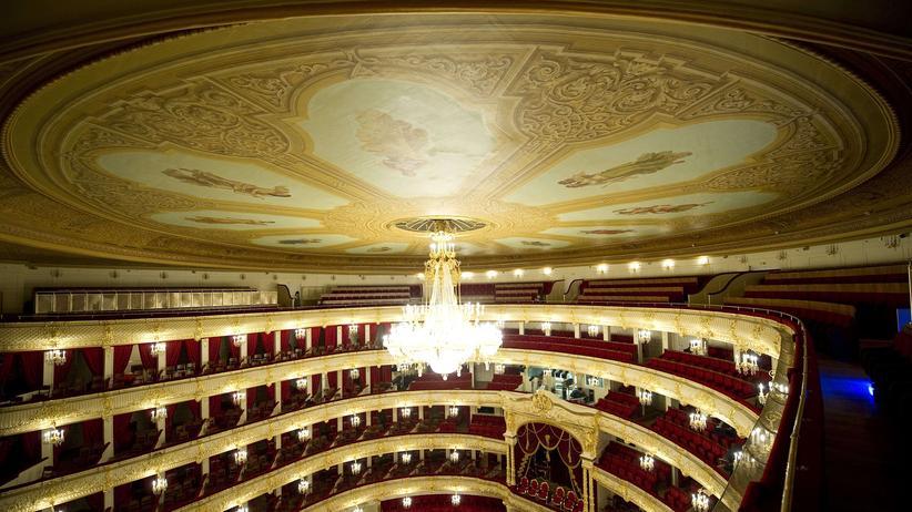Bolschoi-Theater in Moskau: Ein Rausch aus Blattgold und Herrscherpurpur