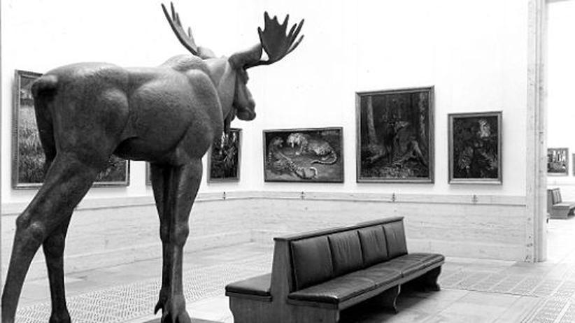 Haus der Kunst: Installationsansicht der Großen Deutschen Kunstausstellung 1940 im Haus der Deutschen Kunst