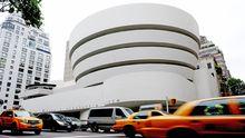 Das Solomon R. Guggenheim Museum in New York wurde von Frank Lloyd Wright entworfen und 1959 eröffnet.