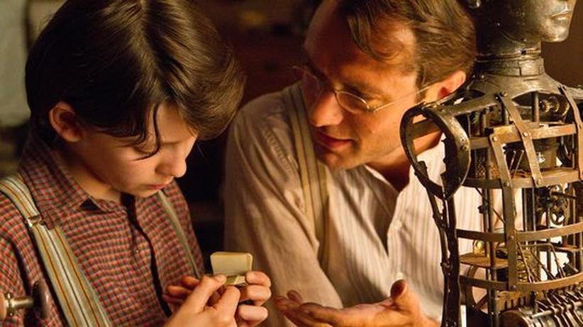 """Steampunk-Strömung: Szene aus Martin Scorseses """"Hugo"""", dem neuesten Steampunk-Film"""