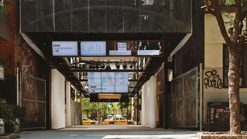 BMW Guggenheim Lab: Komfortzone findet woanders Stadt