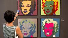 """Von der Museumswand ins Netz: Andy Warhols """"Marilyn Monroe"""" von 1967"""