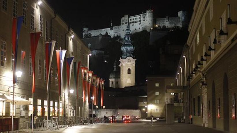 Salzburger Festspiele: Die Hofstallgasse in Salzburg