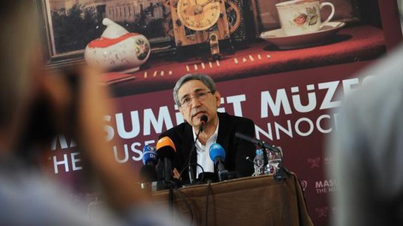 """Orhan Pamuk eröffnet das """"Museum der Unschuld"""" in Istanbul, das nach einem seiner Romane benannt ist (Archivbild, April 2012)."""