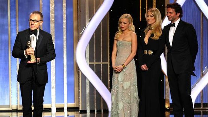 """Filmpreis: Golden Globes gehen an Christoph Waltz und """"Liebe"""""""