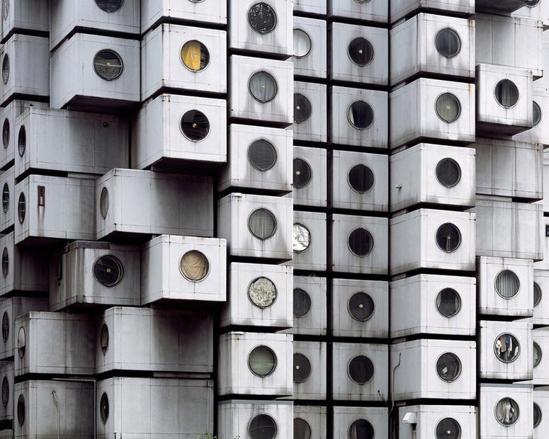 Wohnen In Tokio nakagin capsule tower ein mensch pro behälter zeit