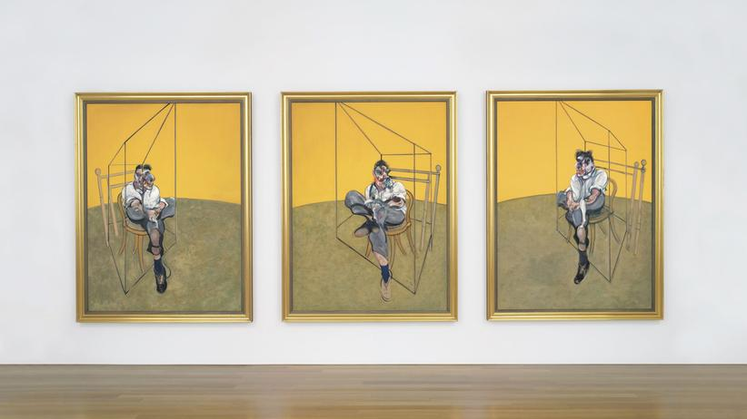 "Auktion: Das Tryptichon ""Three Studies of Lucian Freud"" von Francis Bacon"