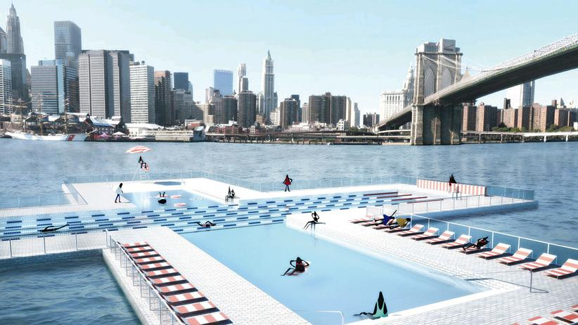 New York: Mit Schwarmintelligenz ins Schwimmbad