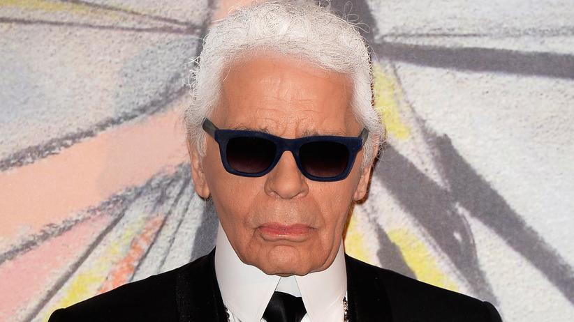 Karl Lagerfeld: Der Modeschöpfer Karl Lagerfeld