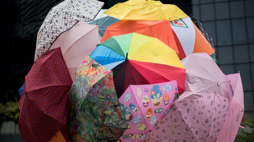 Hongkong: Die Wut, der Block, der Regenschirm