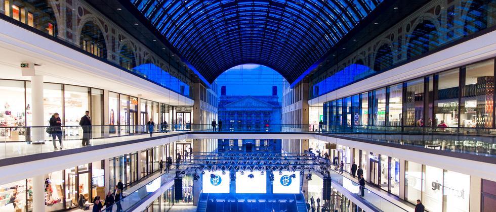 Im Inneren der Mall of Berlin: 270 Geschäfte, aber nichts anderes als bei der Konkurrenz auch