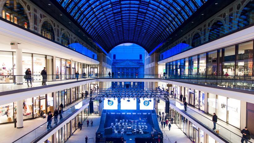 Mall of Berlin: Im Inneren der Mall of Berlin: 270 Geschäfte, aber wenig anderes als bei der Konkurrenz auch