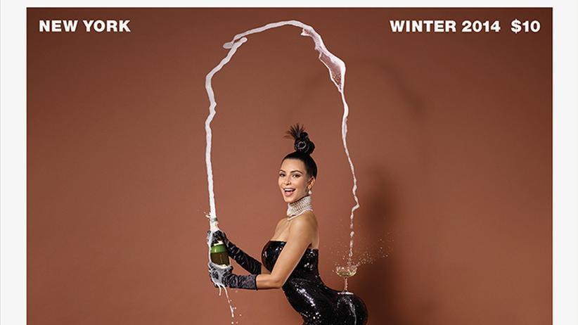 Kim Kardashian: Und ewig grinst der Po
