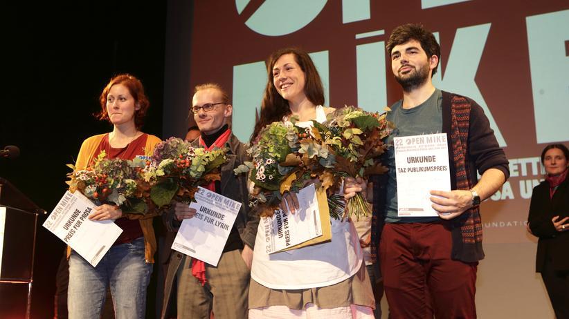 Open Mike : Die Preisträger des Open-Mike-Wettbewerbs 2014