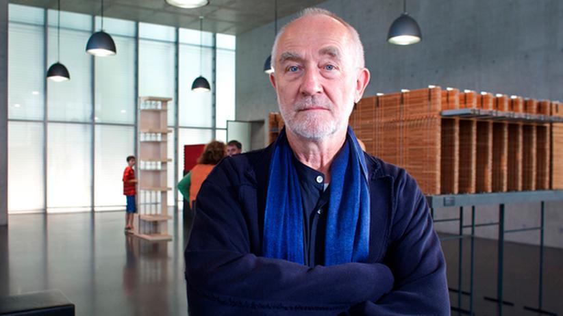 Peter Zumthor: Der Schweizer Architekt Peter Zumthor im Kunsthaus Bregenz (Archivbild von 2007)