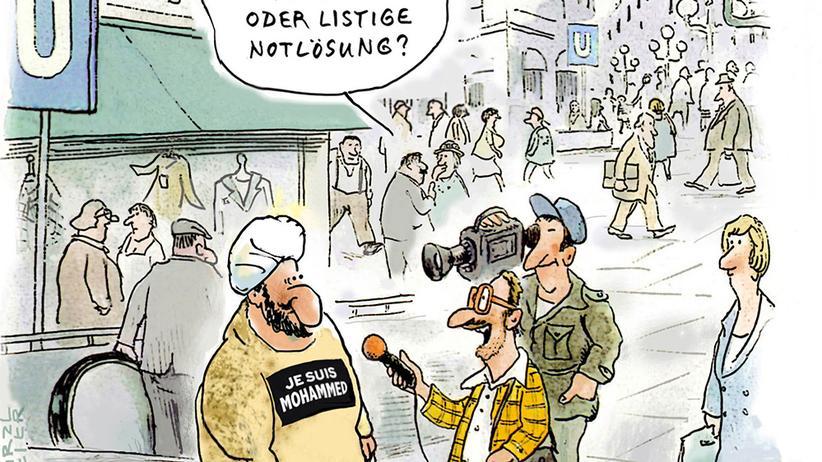"""""""Charlie Hebdo"""": Die Bilder nach den Bildern"""