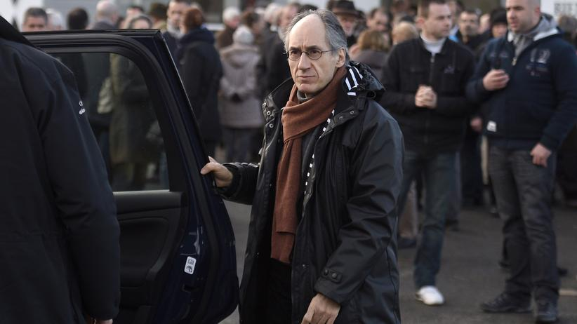 """Gérard Biard, der aktuelle Chefredakteur des Satiremagazins """"Charlie Hebdo"""""""