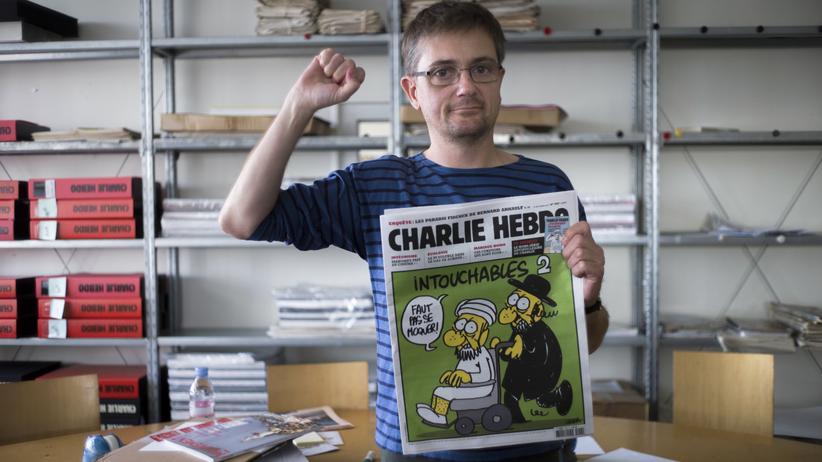 """Kultur, """"Charlie Hebdo"""", Frankreich, Satire, Redaktion, Zeichnung, Attentat, Paris, Mohammed, Papst, Christentum, Kommunistische Partei, Religion, Islam, Tunesien, Tunis"""