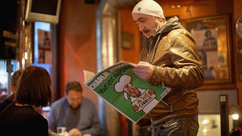 """Kultur, """"Charlie Hebdo"""", Journalismus, Satire, Paris, Frankreich, Mohammed-Karikaturen, Charlie Hebdo"""