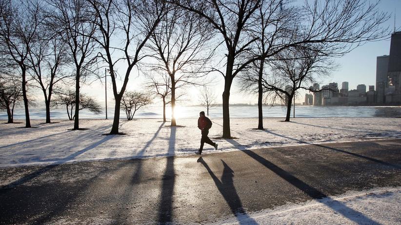 Selbstoptimierung Vorsätze Selbstkontrolle Sport Jogging Laufen Chicago