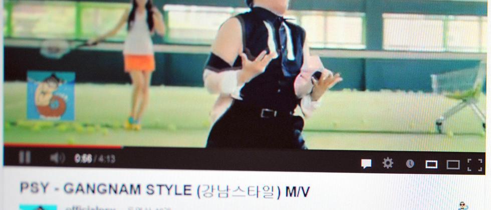 Youtube Psy Gangnam Style