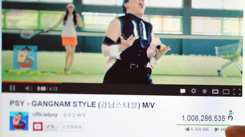 YouTube: Video des Gangnam Style des Koreaners Psy