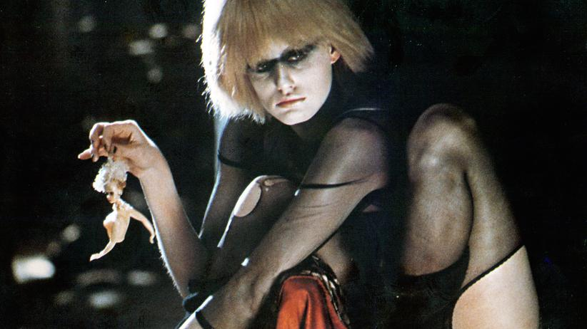 "Science Fiction: Szene aus dem Film ""Blade Runner"""