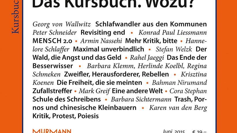 """""""Kursbuch"""": Runter vom Kommandohügel"""