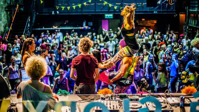 Kultur, Morning Gloryville, Tanzen, Yoga, Berlin