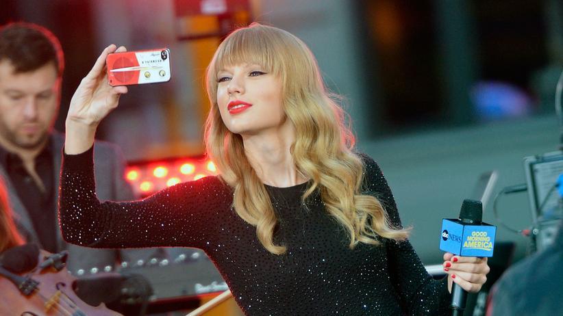 Die amerikanische Sängerin Taylor Swift