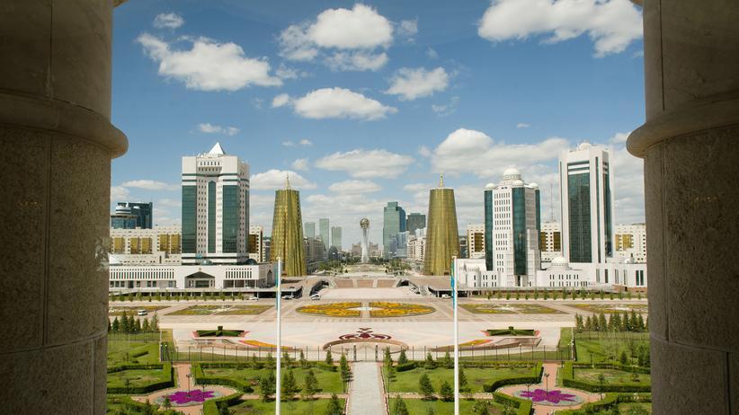 Astana: Aus dem Nichts geboren