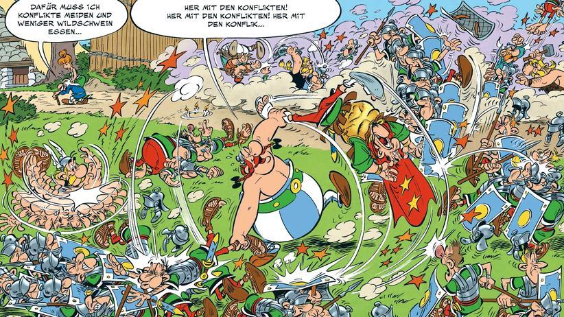 """""""Asterix""""-Comic: Der Leak des Polemix"""