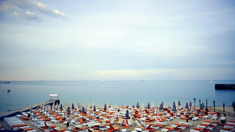 Odessa: Am Strand von Odessa