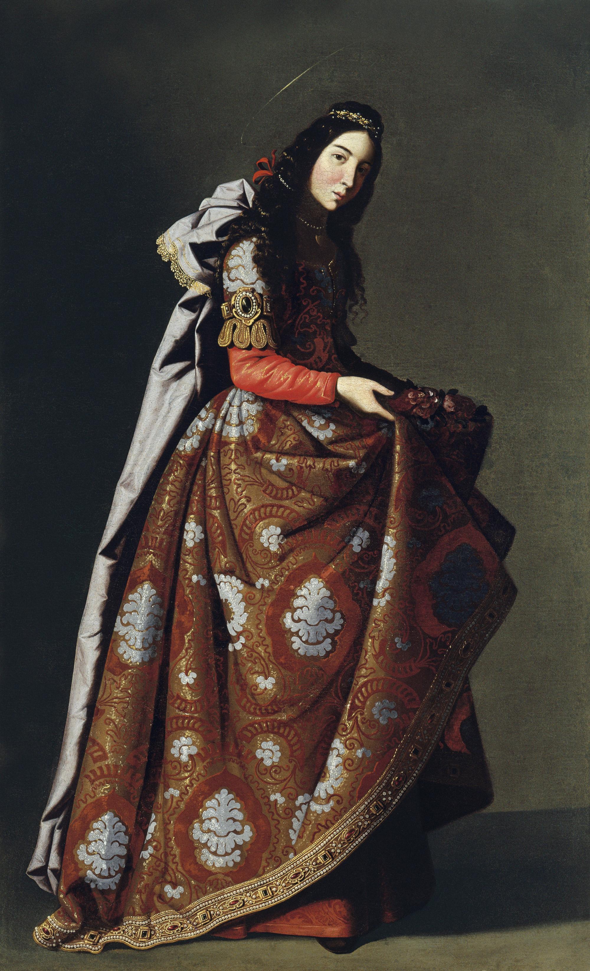 """Santa Casilda"" von Francisco de Zurbarán um 1635"