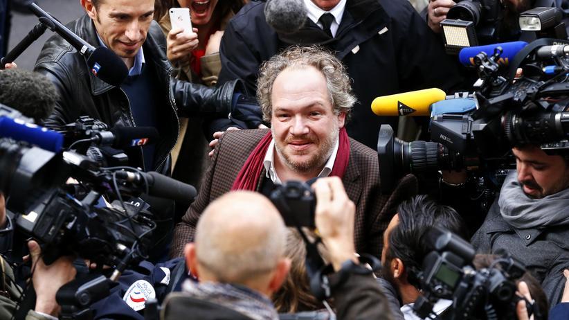 Der französischer Schriftsteller Mathias Enard