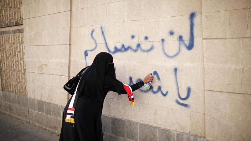 Frauenaktivistin im Jemen