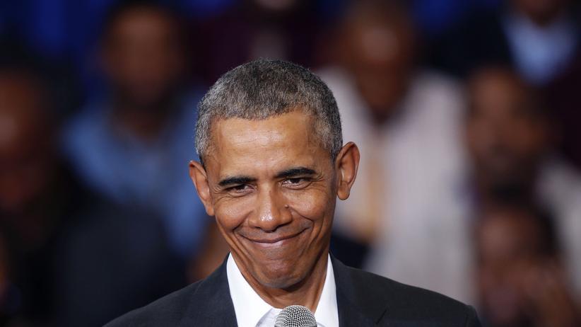 Barack Obama: Barack Obama bei einer Veranstaltung an der McKinley Senior High School, Baton Rouge, Louisiana