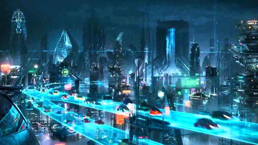"""Stadtplanung: Die Stadt Neo-Seoul im Film """"Cloud Atlas"""" von 2012"""