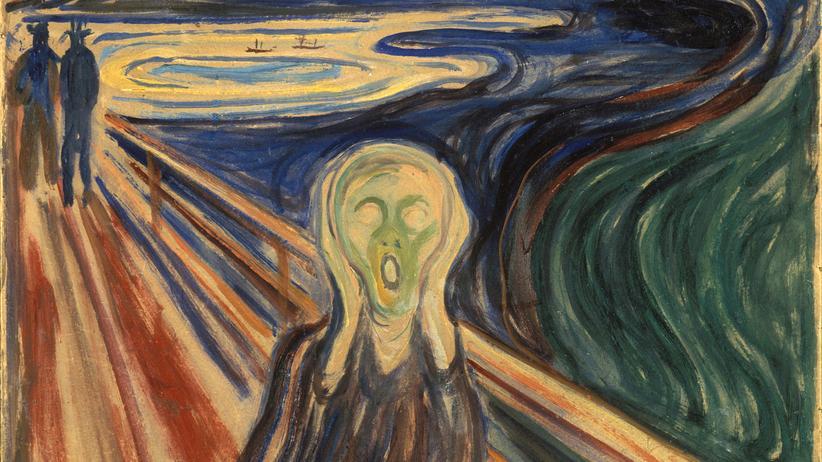 """Apokalypse: """"Der Schrei"""" von Edvard Munch, 1910"""