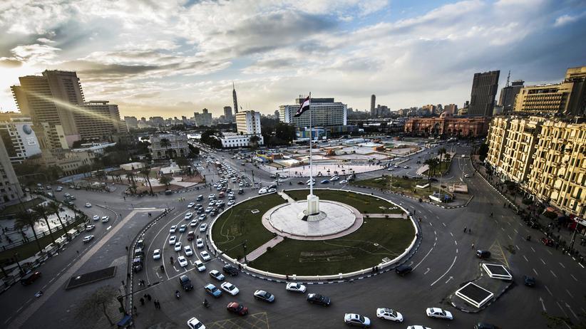 Arabischer Frühling: Trügerische Ordnung: Der Tahrir-Platz in Kairo fünf Jahre nach den ersten Protesten gegen Hosni Mubarak.