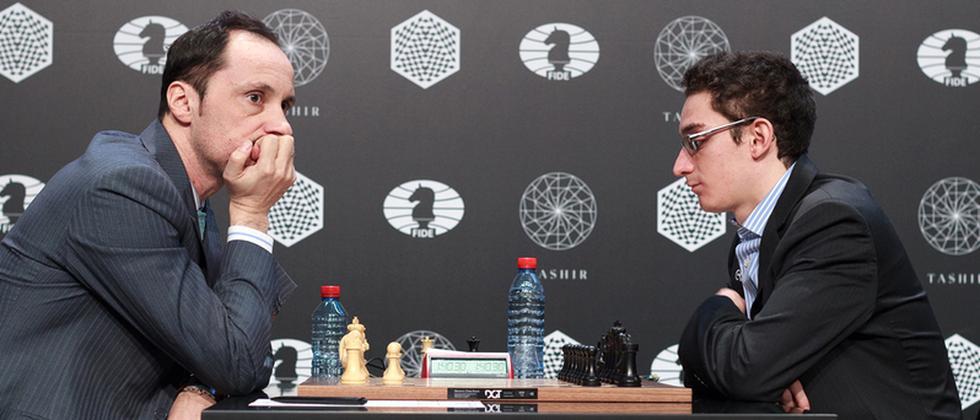 Wesselin Topalow Fabiano Caruana Schach Moskau