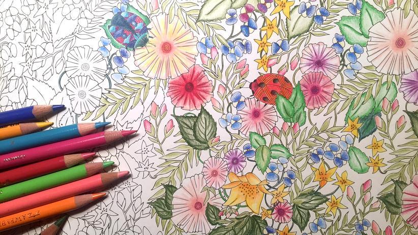 Adult Coloring: Das bunte Leben im falschen