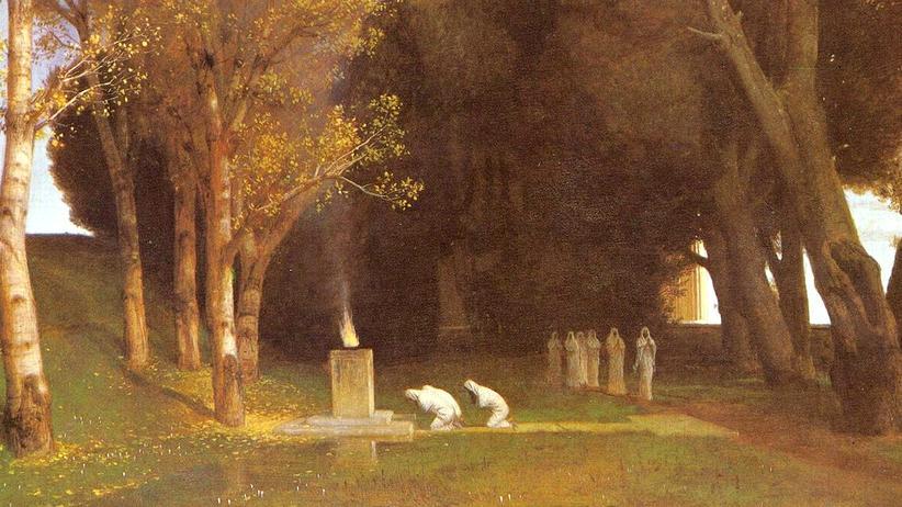 "Nationalismus: Die Kunst des Opfers: Arnold Böcklins ""Heiliger Hain"" (1882)"