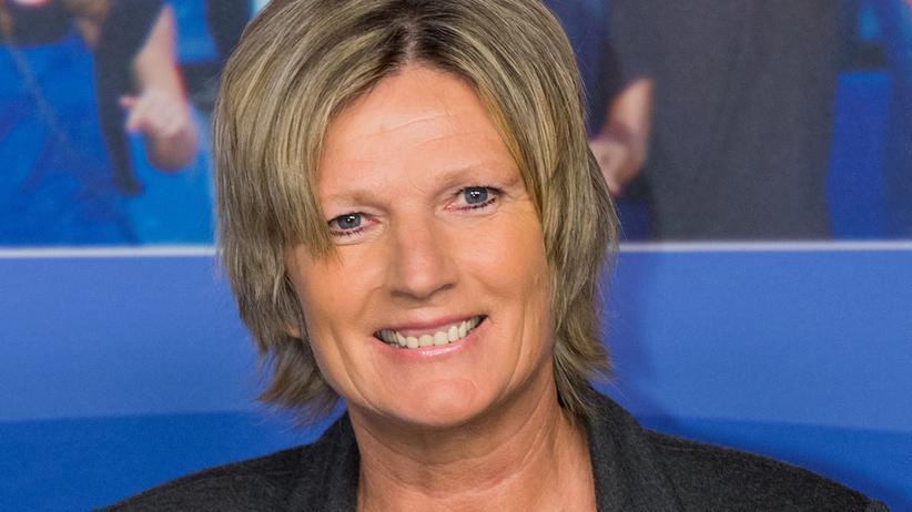 Claudia Neumann: Claudia Neumann kommentiert bei der Fußball-Europameisterschaft in Frankreich für das ZDF.