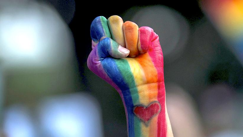 LGBT: Szene einer Massenkundgebung in Gedenken an die Toten von Orlando am 13. Juni