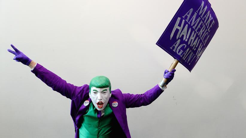 Comic-Con San Diego: Wo Donald Trump zum Joker wird