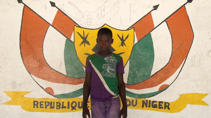 Kind aus Niger